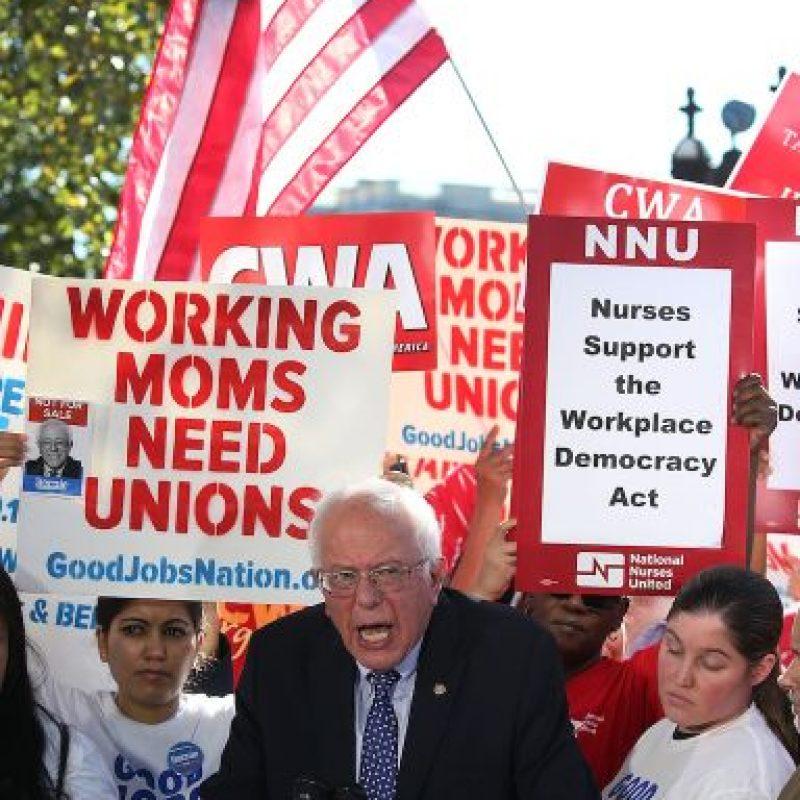 Bernard Sanders, conocido como Bernie Sanders. Foto:Getty Images