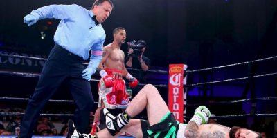 Esta fue la revancha de la pelea que ambos protagonizaron en 2011, y en la que también se impuso Bracero por decisión unánime. Foto:Getty Images
