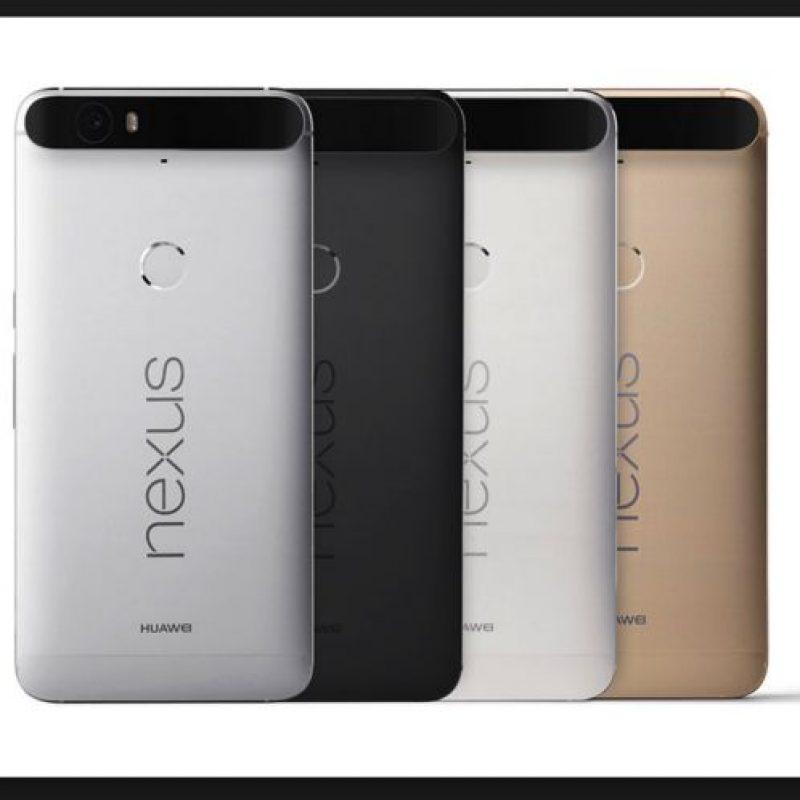 El modelo de lujo de Google tendrá 5.7 pulgadas de pantalla, cámara de 12.3 megapíxeles y lector de huellas dactilares Foto:Google
