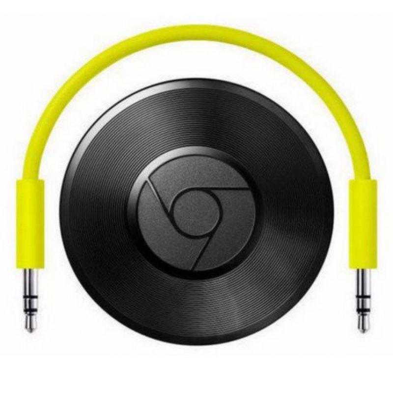 Con este gadget podrán enviar la música que escuchan en sus dispositivos al o cualquier equipo de sonido. La conexión es vía Wi-Fi Foto:Google