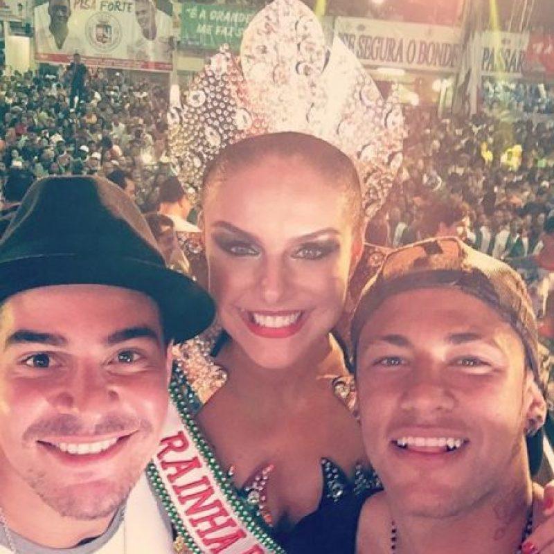 Estas son las imágenes que compartieron en sus redes sociales Foto:Vía instagram.com/palomabernardi