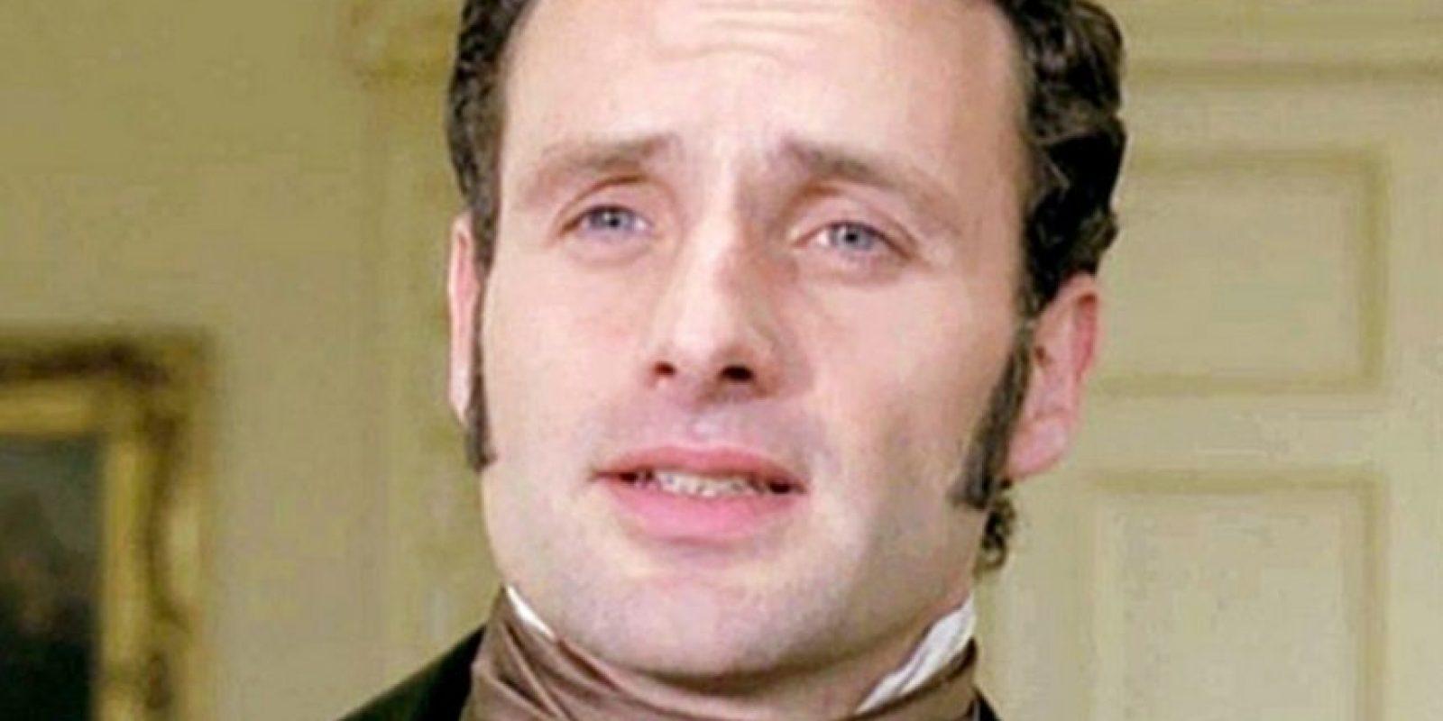 """En 2003 Andrew Lincoln actuó en """"Love Actually"""" y en 2009 lo vimos en """"Cumbres borrascosas"""" Foto:Vía imdb.com"""