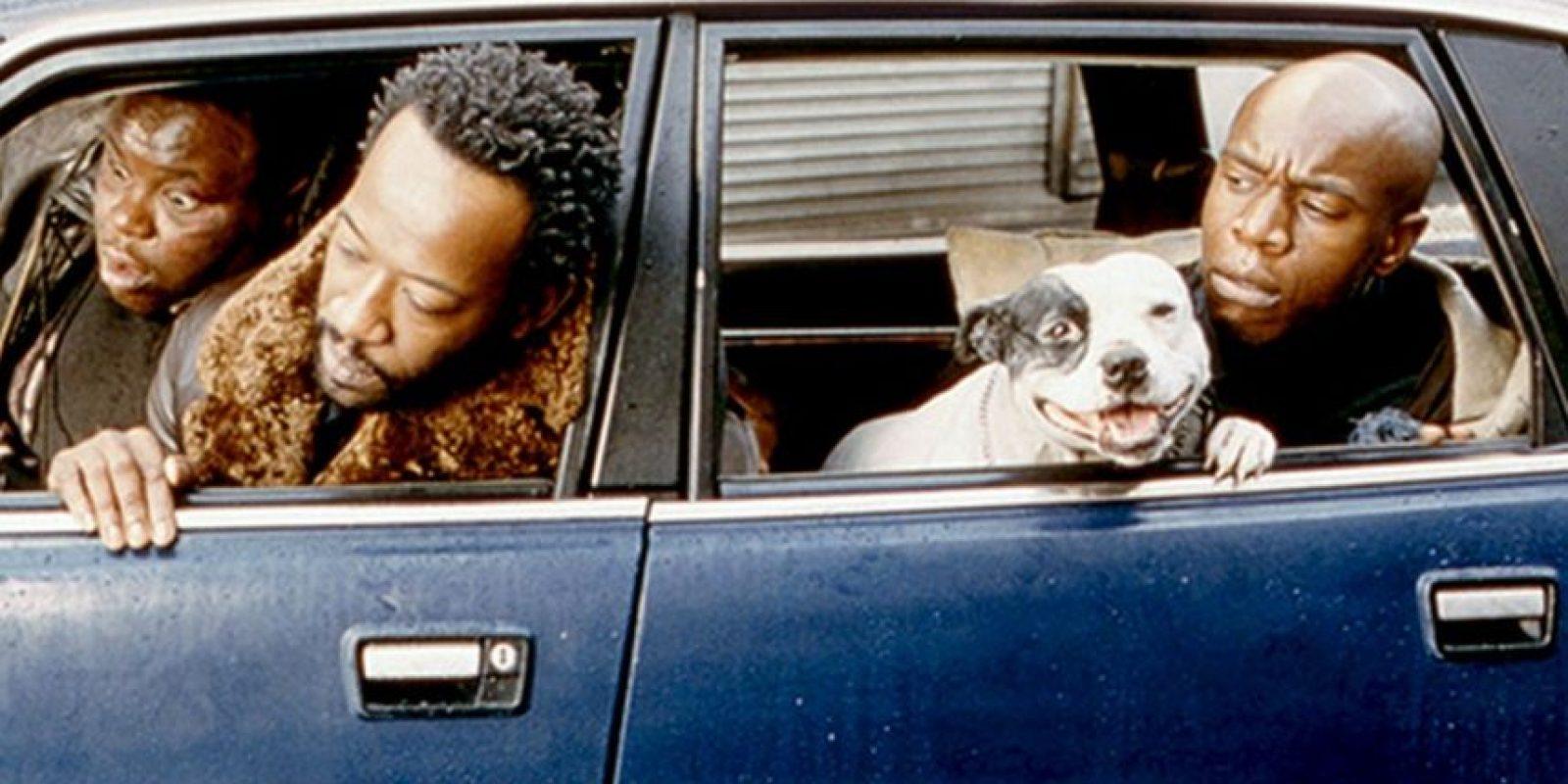 """En el año 2000 Lennie James protagonizó junto a Brad Pitt en la película """"Snatch"""" Foto:Vía imdb.com"""