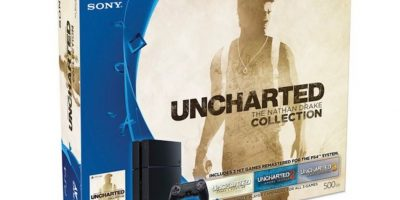 Paquete Uncharted: The Nathan Drake Collection PS4 de 500GB costará 349 dólares. Foto: Sony