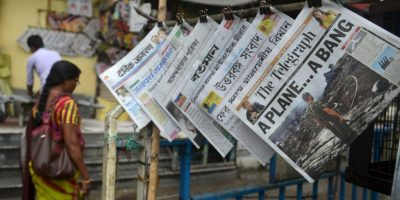 Ucrania denunció en su momento que los prorrusos estaban destruyendo todas las evidencias Foto:AFP