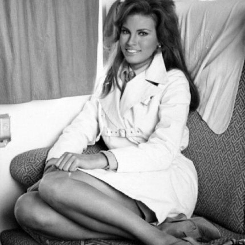 Raquel Welch fue la mujer más deseada de los años 70. Foto:vía Getty Images