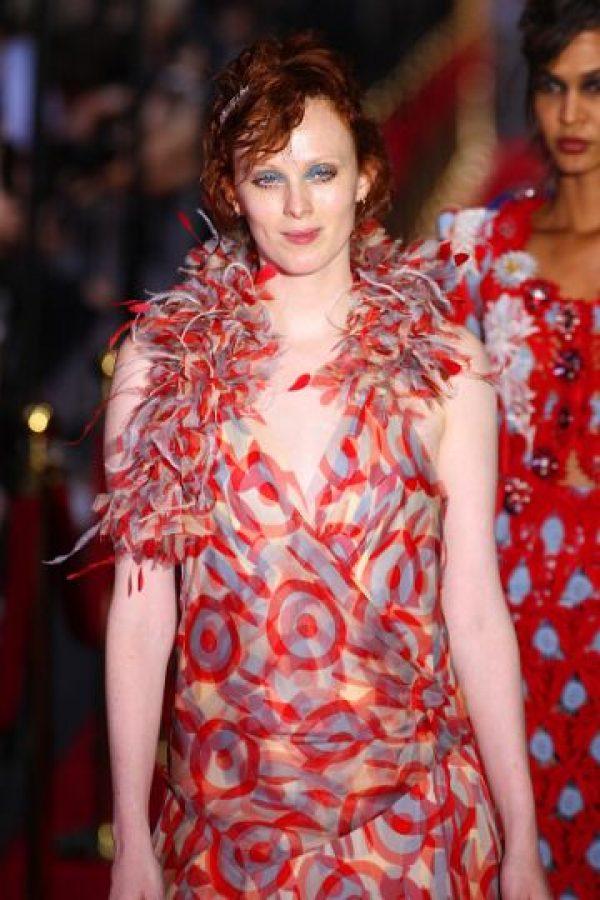 Así desfiló para Marc Jacobs. Foto:vía Getty Images