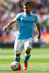 8. Sergio Aguero (Manchester City/Argentina) Foto: Getty Images