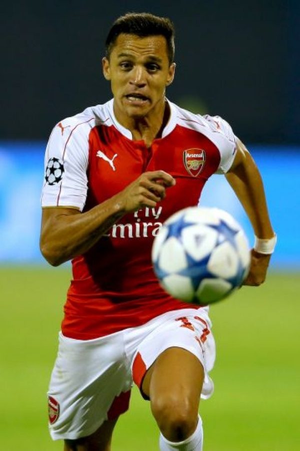 9. Alexis Sánchez (Arsenal/Chile) Foto: Getty Images