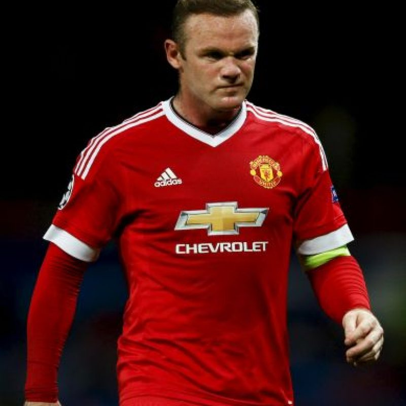 6. Wayne Rooney (Manchester United/Inglaterra) Foto: Getty Images
