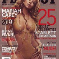 2007, Mariah Carey Foto:Playboy