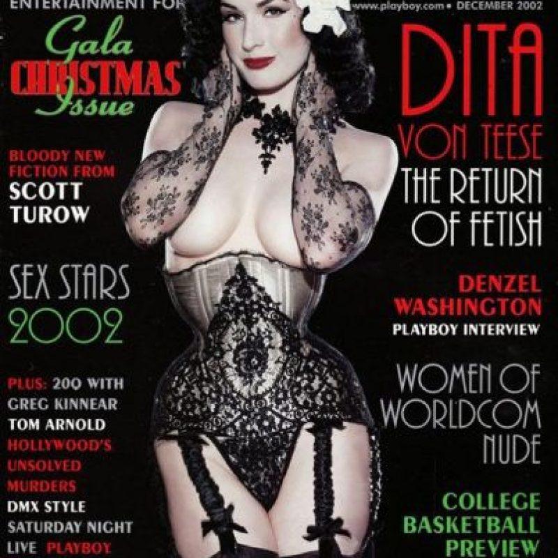 2002, Dita Von Teese Foto:Playboy