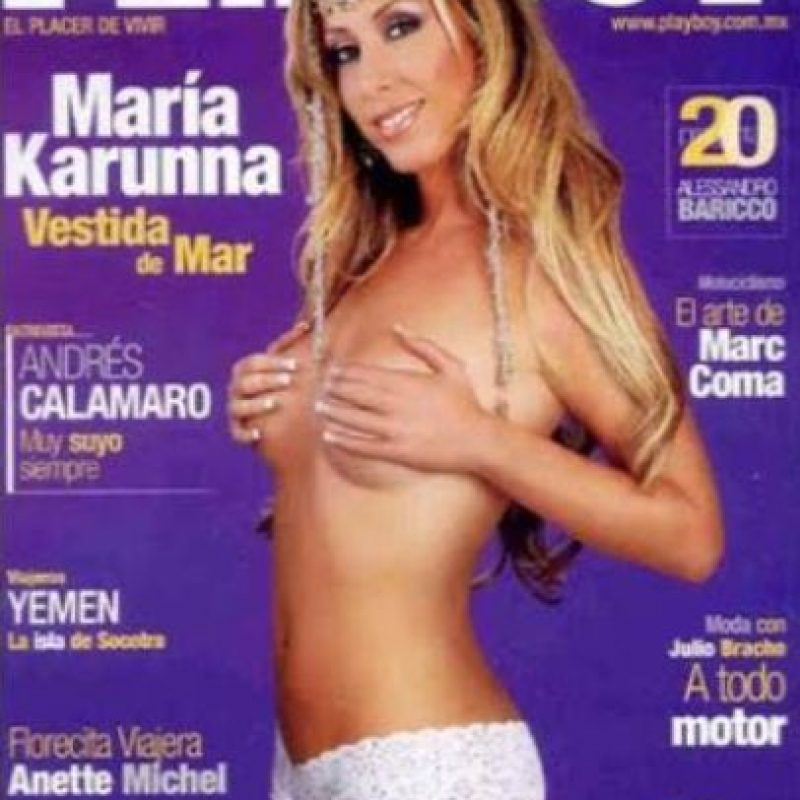 2006, María Carunna Foto:Playboy