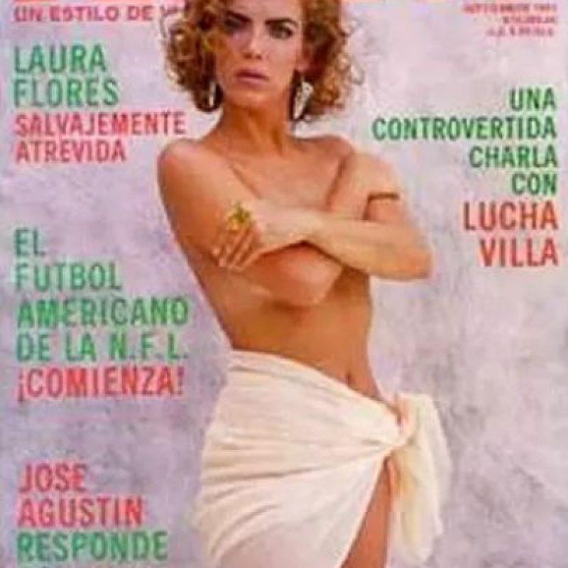 1991, Laura Flores Foto:Playboy
