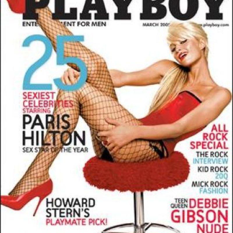 2005, Paris Hilton Foto:Playboy