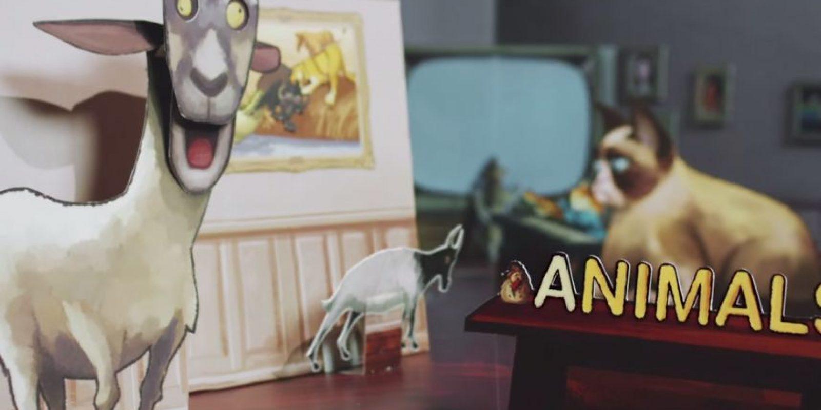 Cada letra tenía una palabra clave. Foto:YouTube