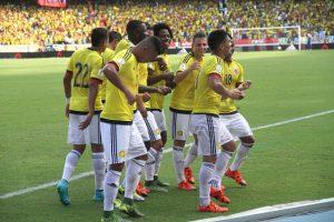 Colombia también inició con victoria su camino al próximo Mundial. Foto:Getty Images