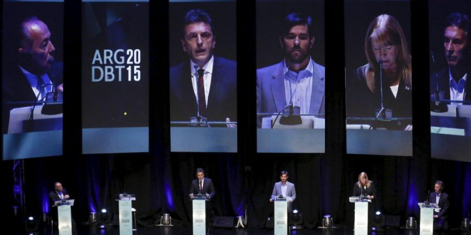 Precandidato a presidente por UNA. Foto:AP