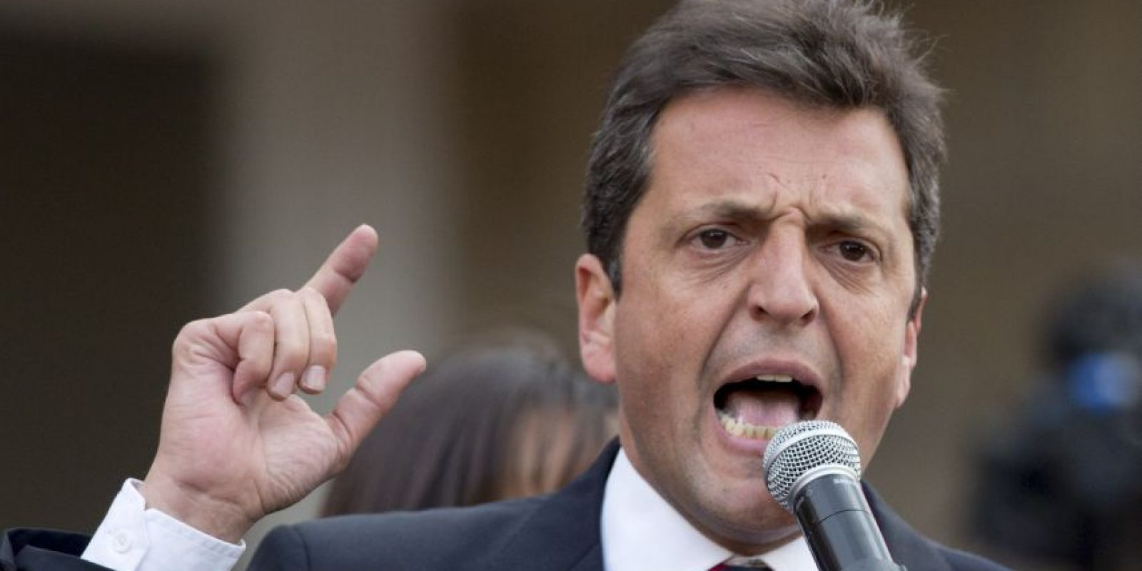 Sergio Massa es diputado de Argentina del Frente Renovador. Foto:AP