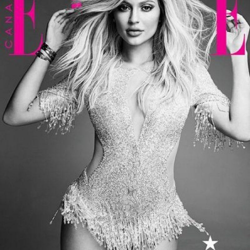 """Kylie es la protagonista de la revista """"Elle Canadá"""" en la edición de diciembre. Foto:Instagram/KylieJenner"""