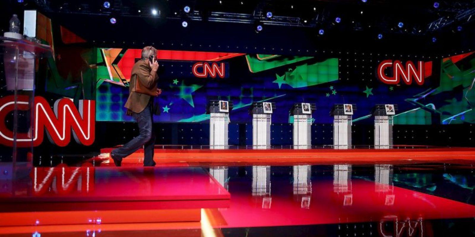 El polémico precandidato Donald Trump fue el centro de atención de aquel debate. Foto:Getty Images