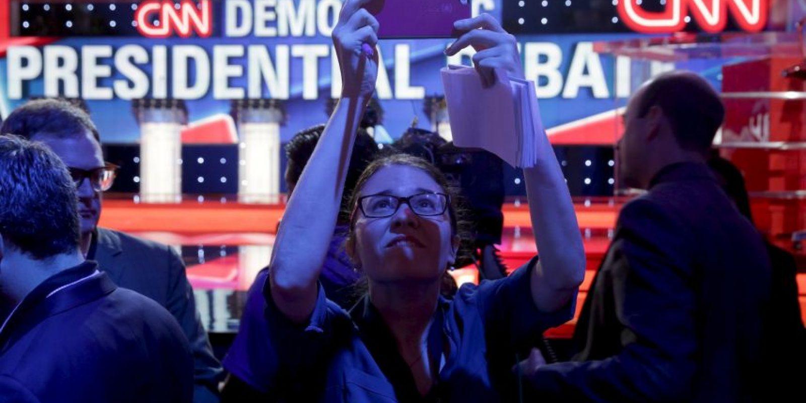 """El récord de audiencia que tenía antes CNN era de 1993 y fue un especial de """"Larry King Live"""". Foto:Getty Images"""