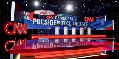El debate de precandidatos republicanos organizado por CNN rompió récord de audiencia. Foto:Getty Images