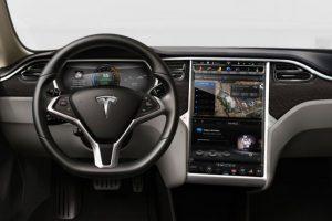 Así luce su nuevo piloto automático. Foto:Tesla Motors