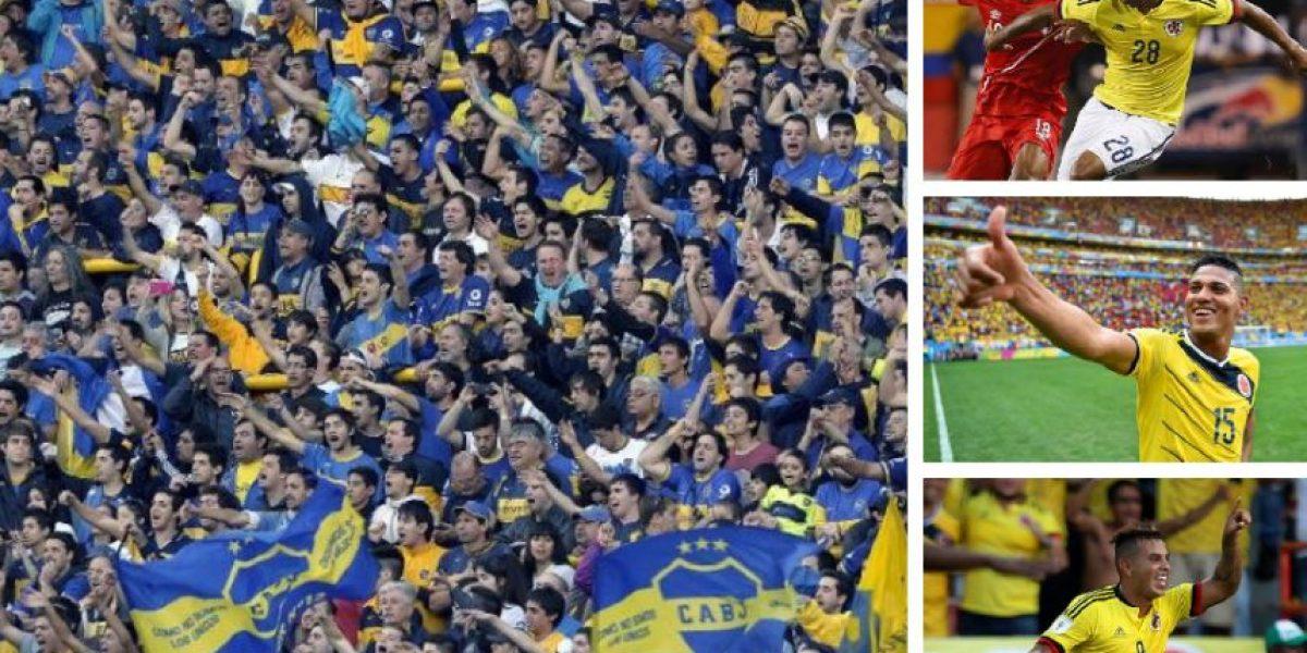 Tres jugadores de la Selección Colombia podrían llegar a Boca Juniors