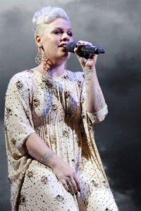 """Su último álbum fue: """"The Truth About Love"""", de donde se desprenden los sencillos """"Just Give Me A Reason"""" y """"Try"""". Foto:Getty Images"""
