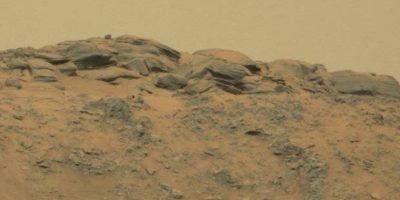 Fotografía difundida por la NASA Foto:Original en http://mars.jpl.nasa.gov/msl-raw-images/msss/00771/mcam/0771MR0033150050403893E01_DXXX.jpg