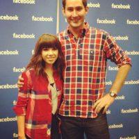 Con la cantante canadiense Carly Rae Jepsen. Foto:instagram.com/kevin