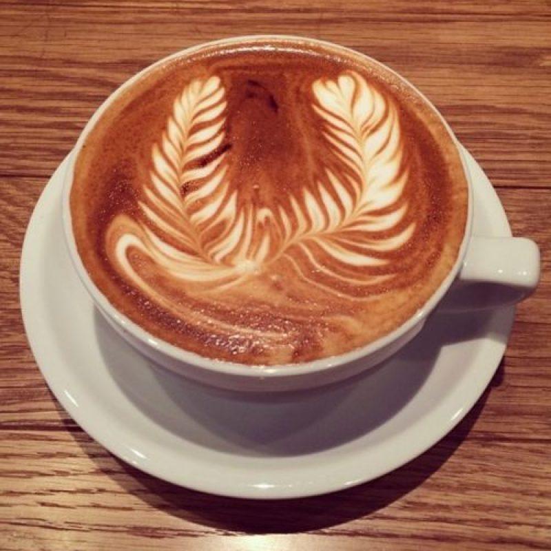 Café con diseño. Foto:instagram.com/kevin