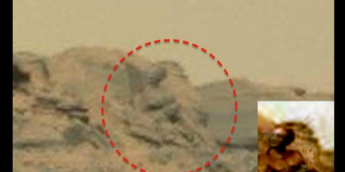 ¿Un Dios marciano? Aficionados OVNI descubren estatua