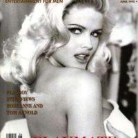 Anna Nicole Smith comenzó como stripper y luego se casó con un millonario tejano de 90 años. Foto:vía Playboy