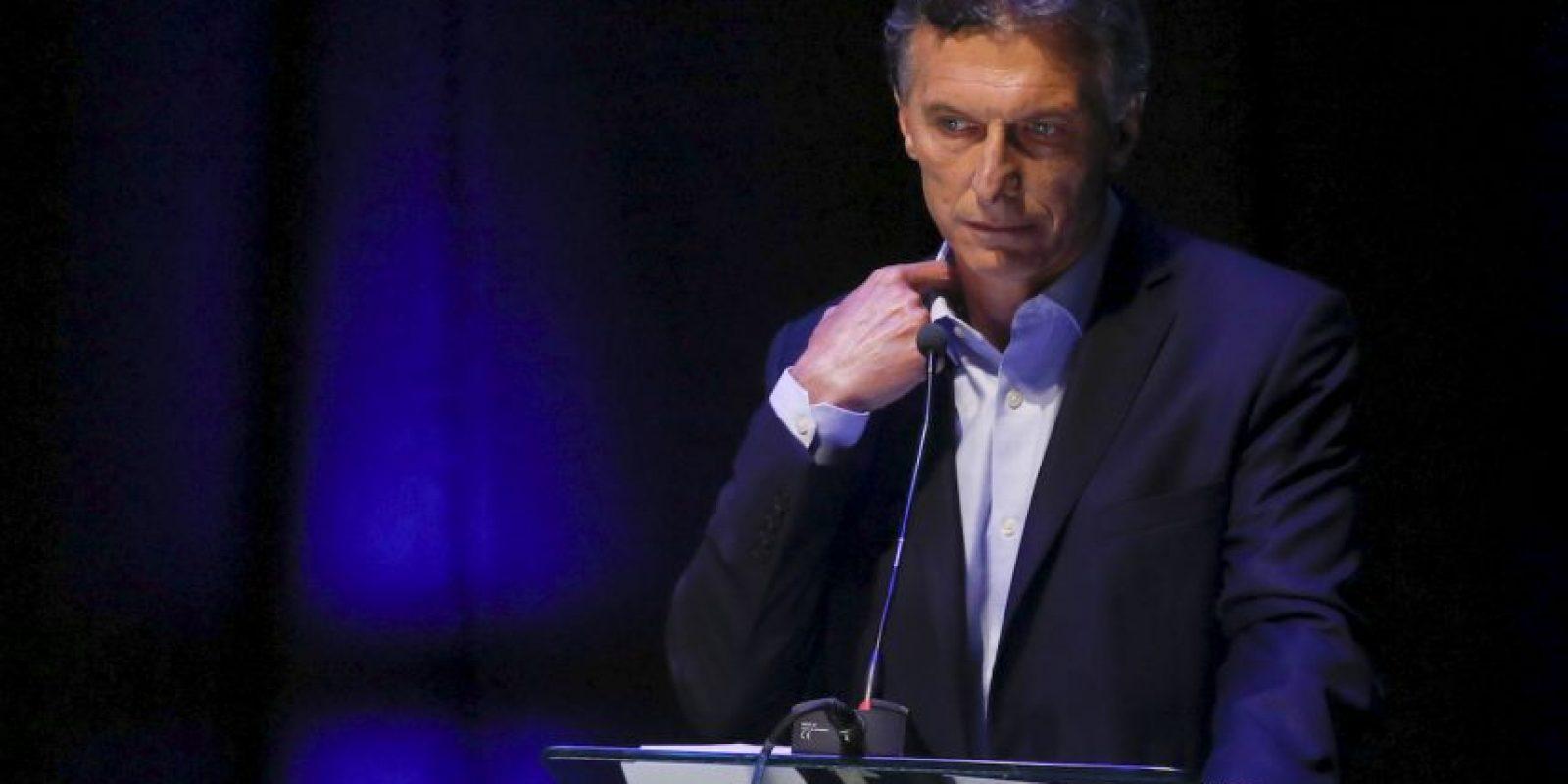 Mauricio Macri Foto:AP
