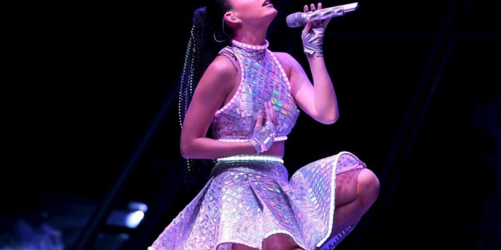 Es la única cantante que ha permanecido un año entero en el top 10 de la lista de popularidad. Foto:Getty Images