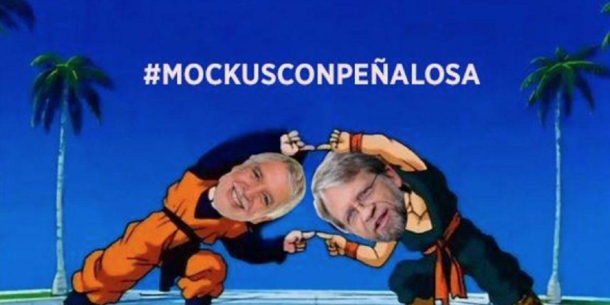 Memes de la campaña de Peñalosa por el apoyo de Mockus