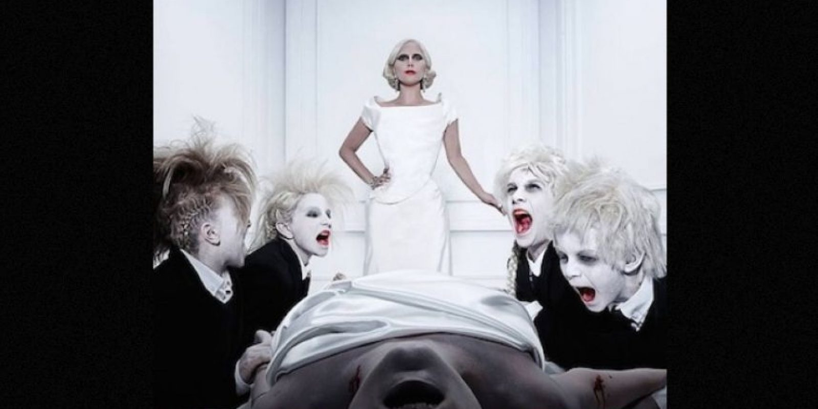 """En """"American Horror Story: Hotel"""", Lady Gaga es la protagonista de la quinta emisión. Foto:Facebook/AmericanHorrorStory"""