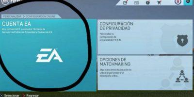 """En el """"FIFA 16"""", deben crear una cuenta de EA Sports para acceder a los modos en línea. Foto:Especial"""