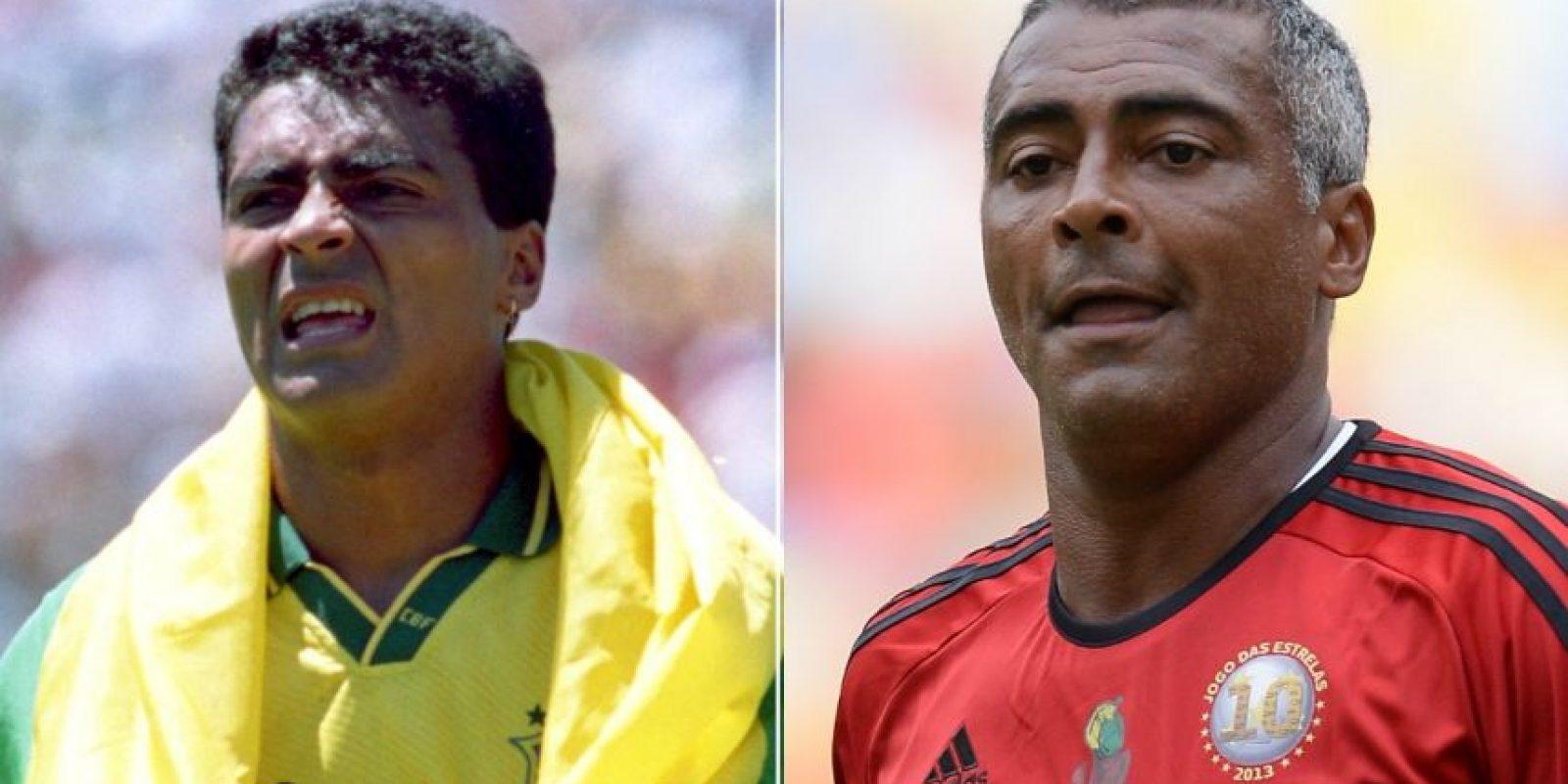 Romario: Hoy, a sus 49 años es diputado en su natal Brasil. Fue Campeón del Mundo en 1994 y dijo adiós al fútbol hasta 2009. Foto:Getty Images