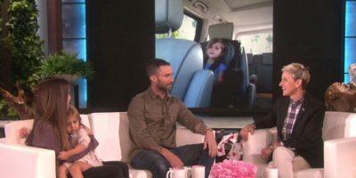 """Levine confesó que fue """"desgarrador"""" ver a la niña llorando por su boda. Foto:vía YouTube/EllenDeGeneres"""