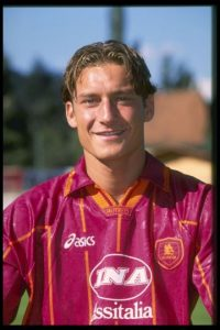 6. Francesco Totti (1996) Foto: Getty Images