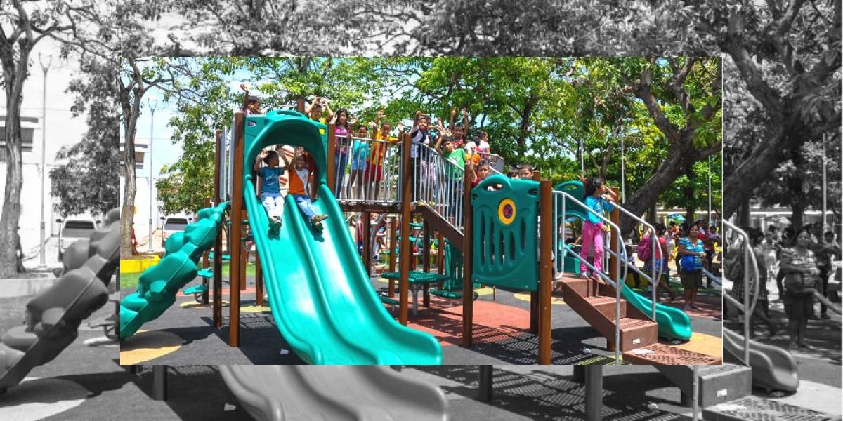 Resultado de imagen para parques de barranquilla
