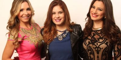 Carolina Guillén, Carolina Padrón y Kary Correa, las talentosas conductoras de ESPN. Foto:Nicolás Corte