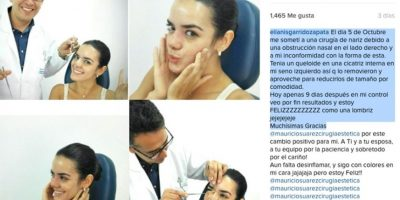 Foto:Instagram @elianisgarridozapata