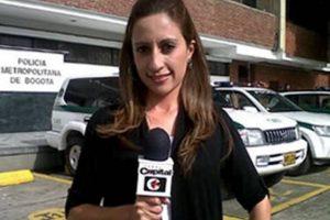 La periodista Karen Liliana Gamba prendió las alarmas de la Policía ante un posible caso de 'paseo millonario', pero todo se trató de una confución y ella apareció durmiendo en su casa. Foto:Captura de pantalla video Canal Capital