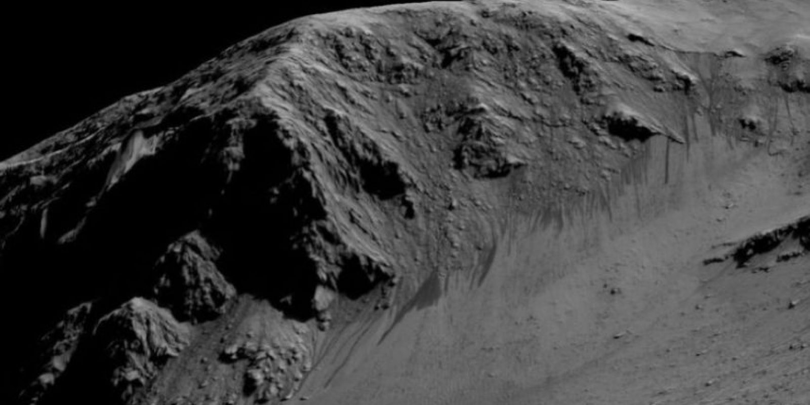 La evidencia de que Marte tuvo agua en el pasado ha sido muy documentada, pero el hecho de que el agua fluya aún en el planeta es un avance importante. Foto:Vía Nasa.gov