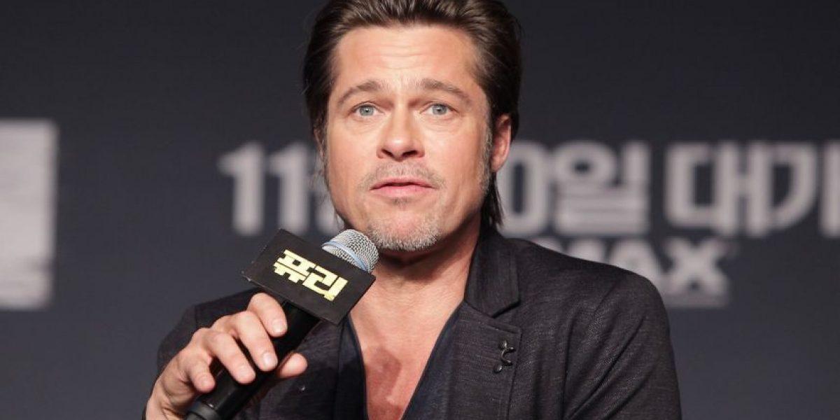 Fotos: Brad Pitt se unió al club de los platinados con este nuevo look