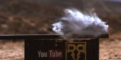 10- Se destruyó con un impacto de bala. Foto:FullMag / YouTube